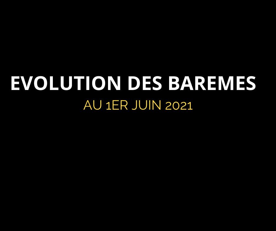 Evolution des tarifs de pneus au 1er juin 2021